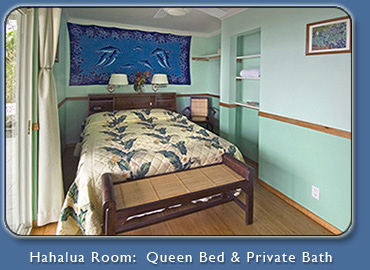 Hahalua Room at Mango Sunset Kona Hawaii Bed & Breakfast Inn